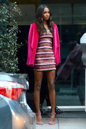 Jasmine Tookes - Leaves a Victoria Secret Party 02/07/2019