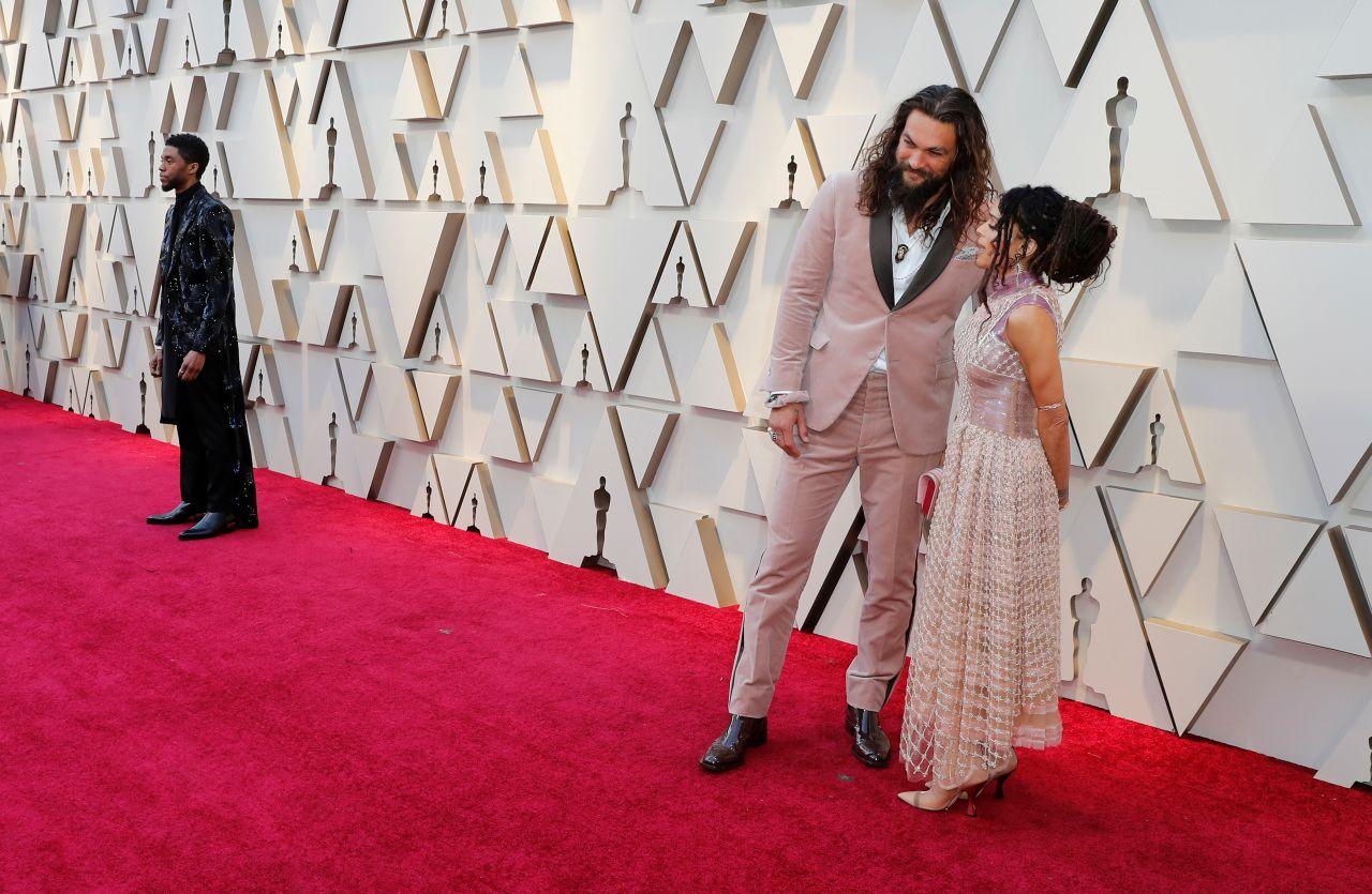 Jason Momoa Oscars 2019 Red Carpet