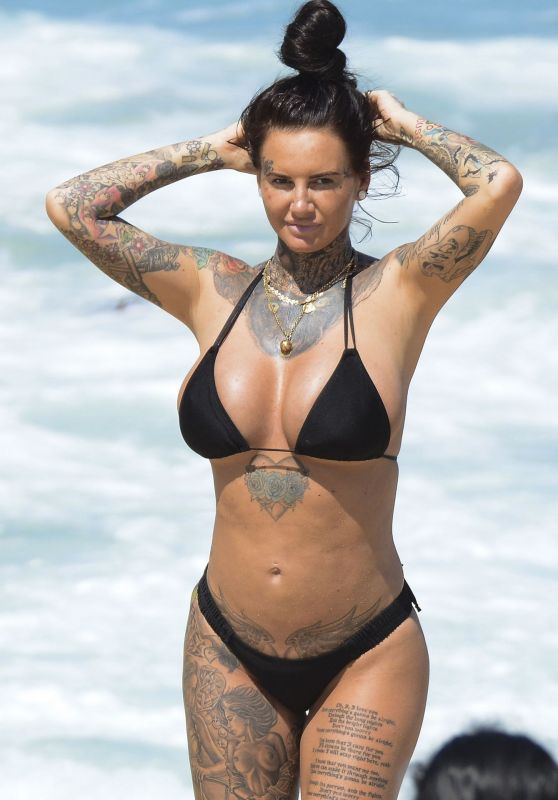 Jemma Lucy in Bikini on Bondi Beach in Australia 02/26/2019