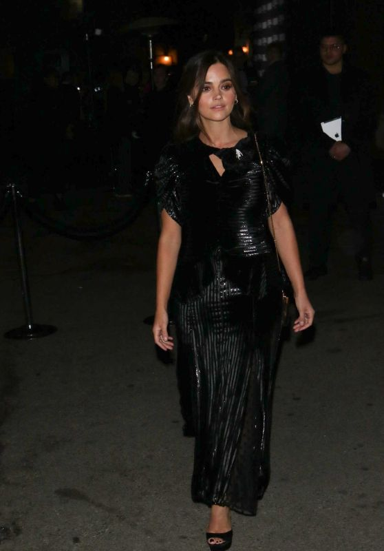 Jenna Coleman - Arrives For the Vanity Fair Party in LA 02/19/2019