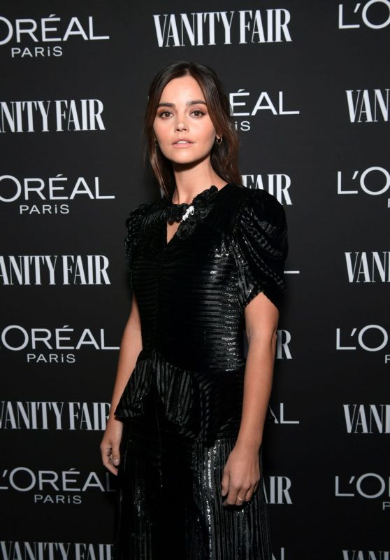 Jenna Coleman – Vanity Fair & LOréal Paris Celebrate New Hollywood 02/19/2019