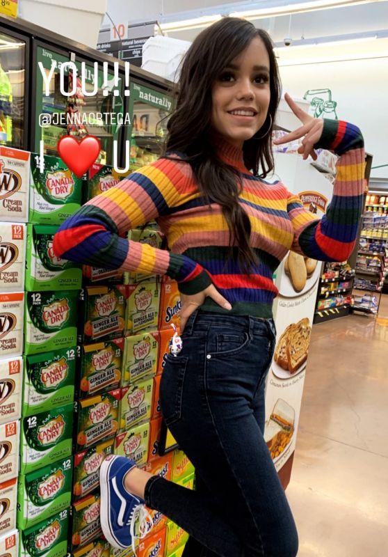 Jenna Ortega - Personal Pic and Video 02/14/2019
