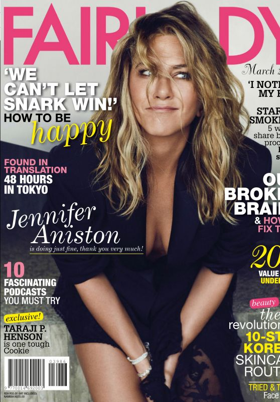 Jennifer Aniston - Fairlady March 2019