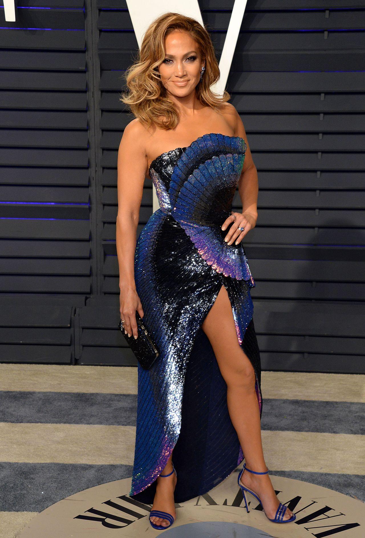 Jennifer Lopez 2019 Vanity Fair Oscar Party