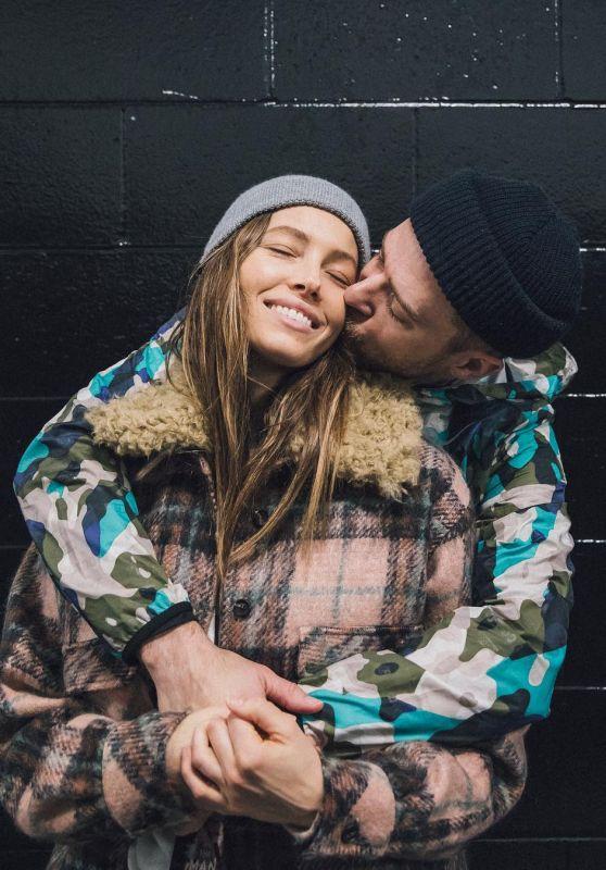 Jessica Biel - Personal Pics 02/17/2019
