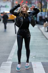 Joy Corrigan - Photoshoot in NYC 02/18/2019