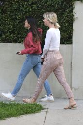 Julianne Hough Casual Style - Hollywood 02/26/2019