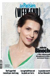 Juliette Binoche - Le Parisien Magazine February 2019