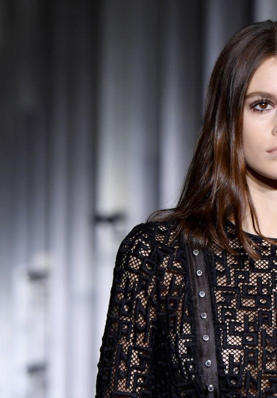 Kaia Gerber - Longchamp Fashion Show in NYC 02/09/2019