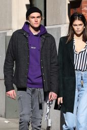 Kaia Gerber - Out in NYC 02/15/2019