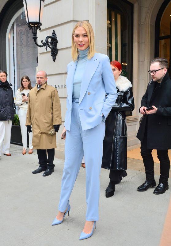 Karlie Kloss - Leaves the Ralph Lauren Show in New York 02/07/2019