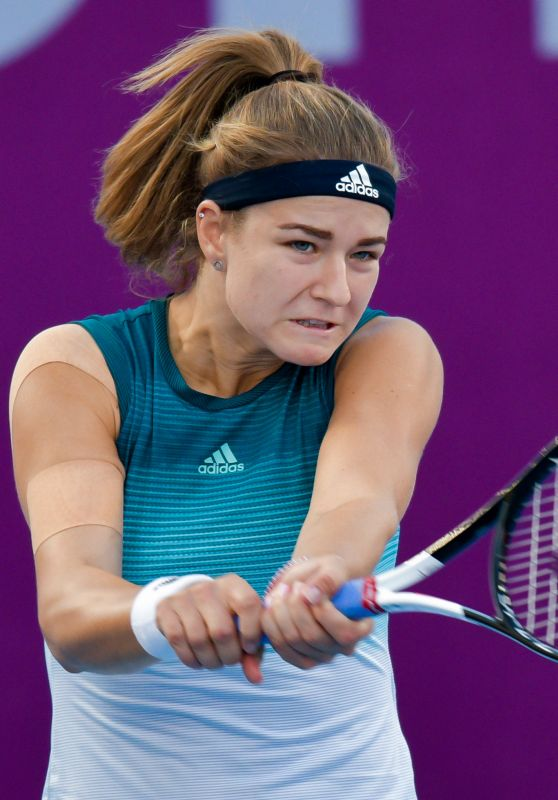Karolina Muchova – 2019 WTA Qatar Open in Doha 02/13/2019