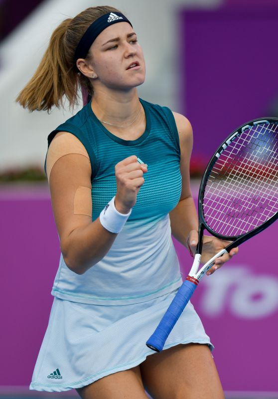 Karolina Muchova – 2019 WTA Qatar Open in Doha 02/14/2019