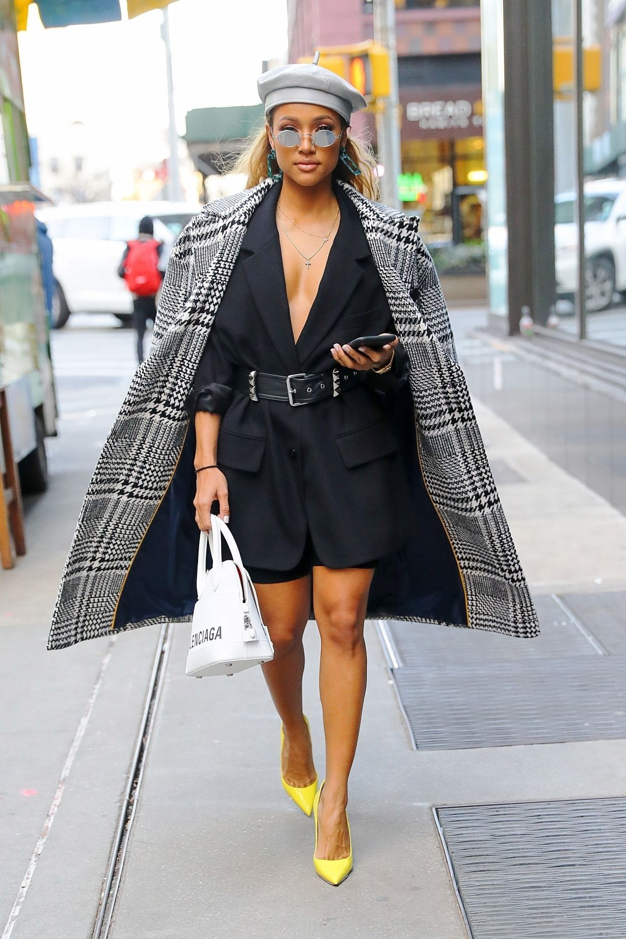 Karrueche Tran Street Fashion , New York City 02/16/2019