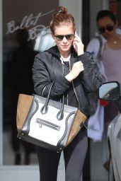 Kate Mara at Ballet Bodies in West Hollywood 02/26/2019