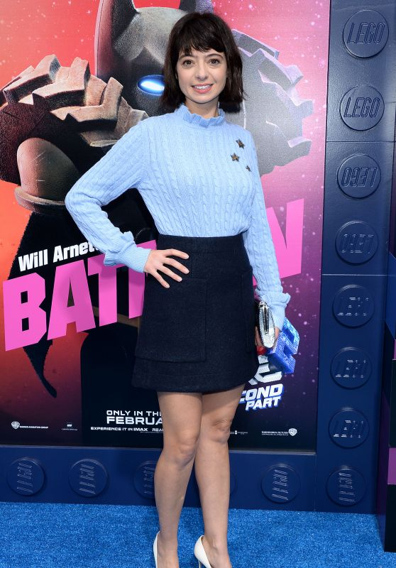 """Kate Micucci – """"The Lego Movie 2: The Second Part"""" Premiere in London"""