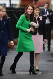 Kate Middleton - Lavender Primary School in London 02/05/2019