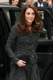 Kate Middleton - Mental Health In Education Conference in London 02/13/2019