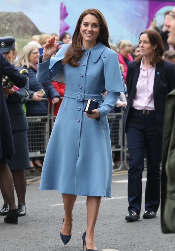 Kate Middleton Visits Cinemagic At The Braid Arts Centre