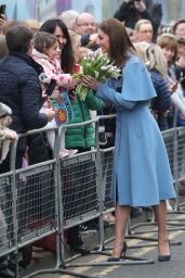 Kate Middleton - Visits CineMagic at the Braid Arts Centre in Ballymena 02/28/2019