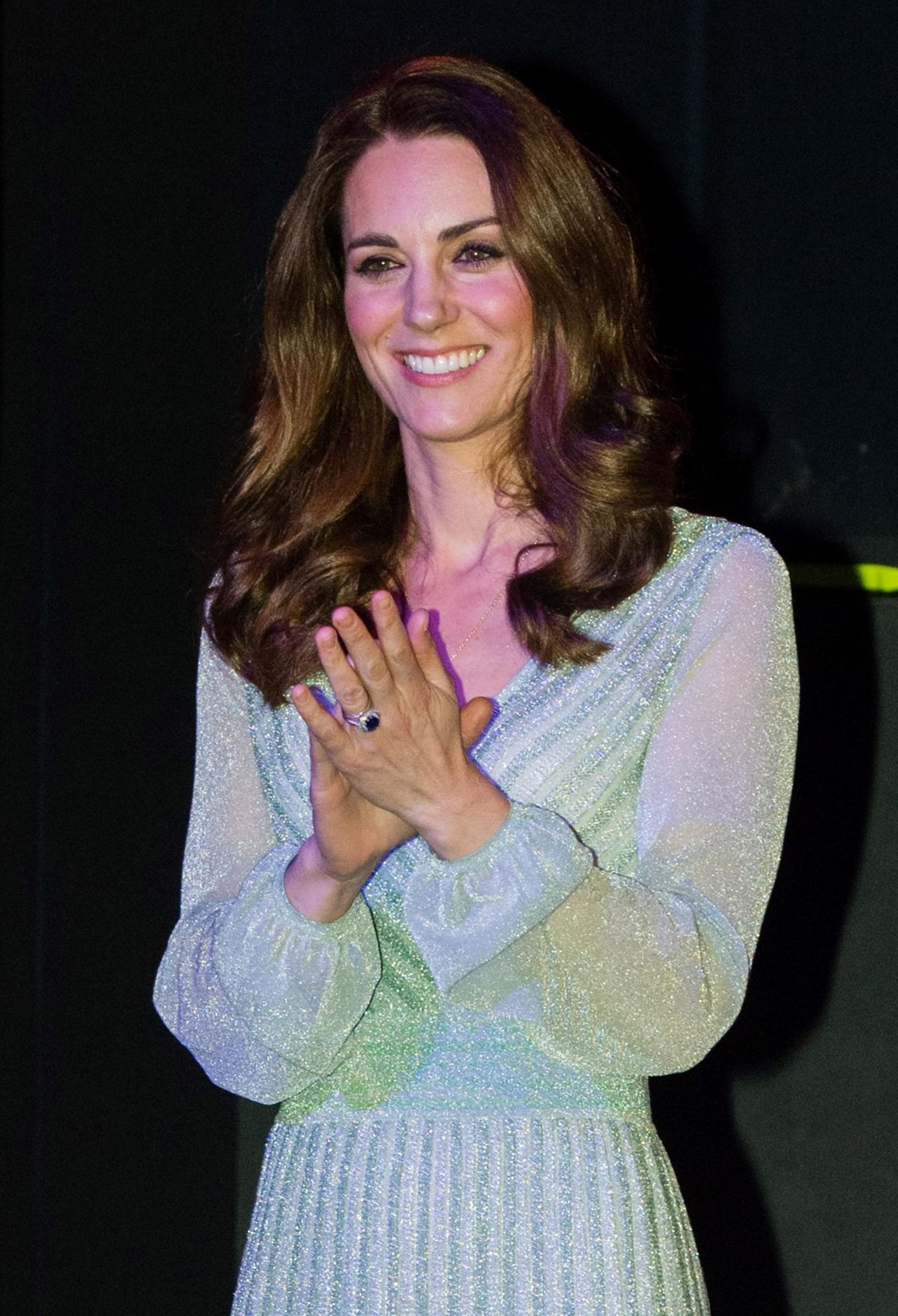 Kate Middleton Visits The Empire Music Hall In Belfast