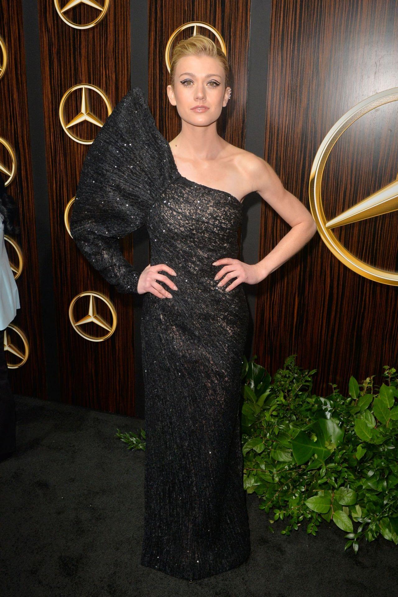 Katherine Mcnamara 2019 Mercedes Benz Usa Awards Viewing Party
