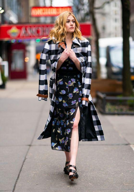 Katherine McNamara Classy Fashion 02/07/2019