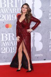 Kelly Brook – 2019 Brit Awards