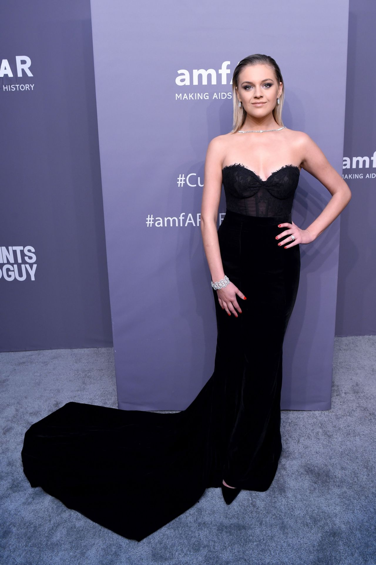 Kelsea Ballerini 2019 Amfar Gala In New York