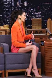 """Kendall Jenner Appeared on """"The Tonight Show Starring Jimmy Fallon"""" 02/14/2019"""