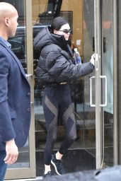 Kendall Jenner at Gotham Gym in NYC 02/12/2019