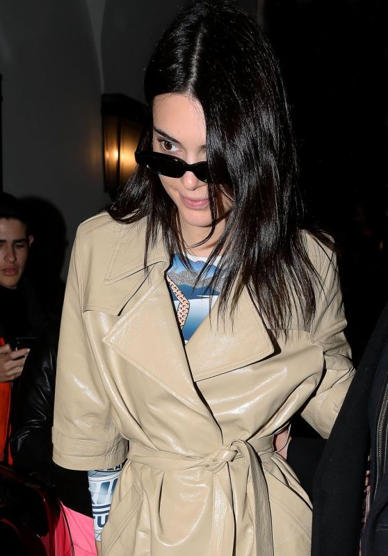 Kendall Jenner - Out in Milan 02/21/2019