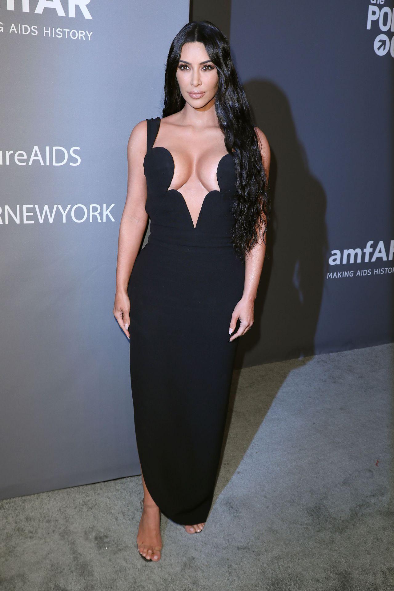 Kim Kardashian – 2019 amfAR Gala in New York