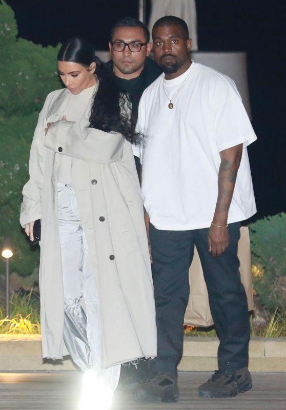 Kim Kardashian and Kanye West - Leaving Nobu in Malibu 01/30/2019