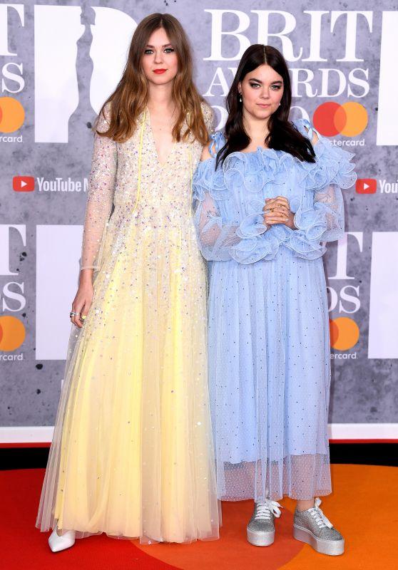 Klara Söderberg and Johanna Söderberg (First Aid Kit) – 2019 Brit Awards