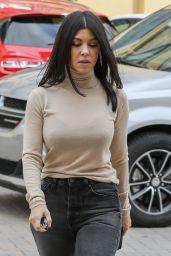 Kourtney Kardashian Casual Style - Calabasas 02/01/2019