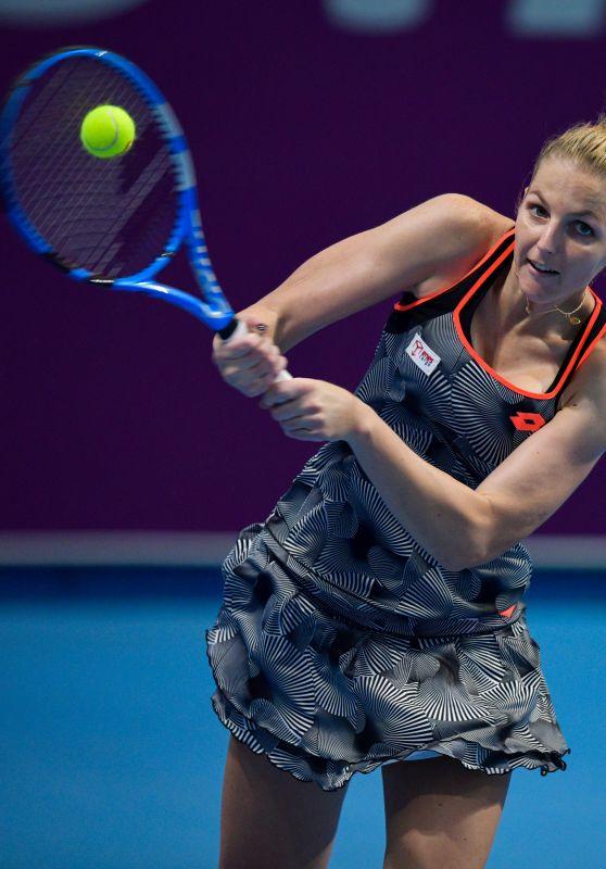 Kristyna Pliskova – Qualifying for 2019 WTA Qatar Open in Doha 02/10/2019