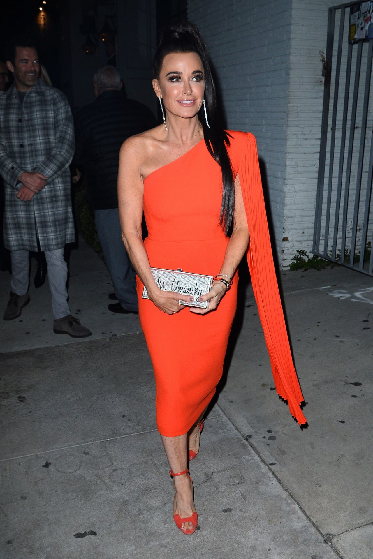 Kyle Richard Arrives For The Real Housewives Of Beverly