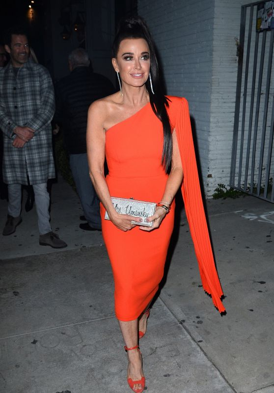 """Kyle Richard – Arrives For """"The Real Housewives Of Beverly Hills"""" Season 9 Party 02/12/2019"""