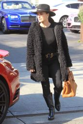 Kyle Richards at Il Pastaio in Beverly Hills 01/30/2019