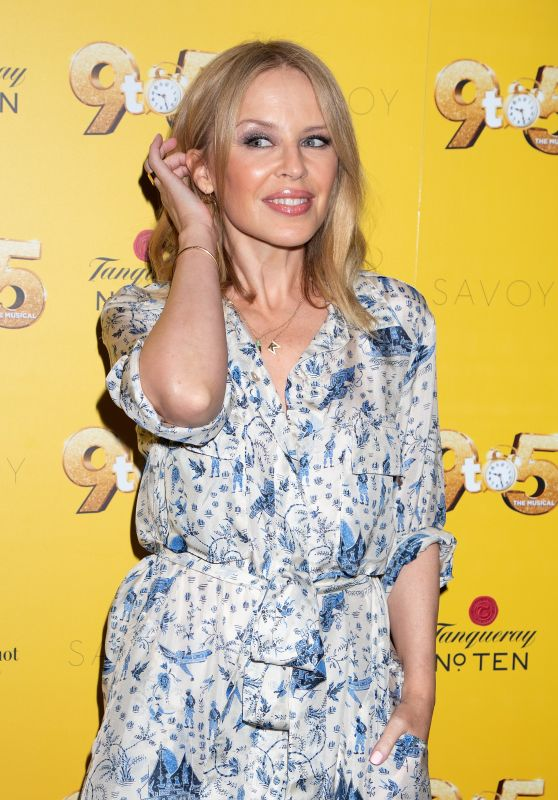 "Kylie Minogue - ""9 to 5 The Musical"" Gala Evening in London 02/17/2019"