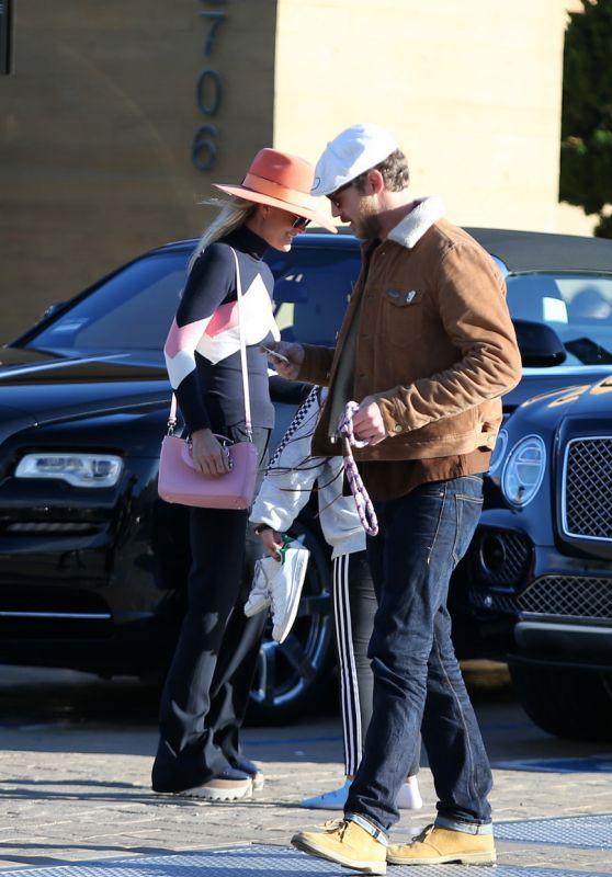 Laeticia Hallyday - Arriving at Nobu Restaurant in Malibu 02/09/2019