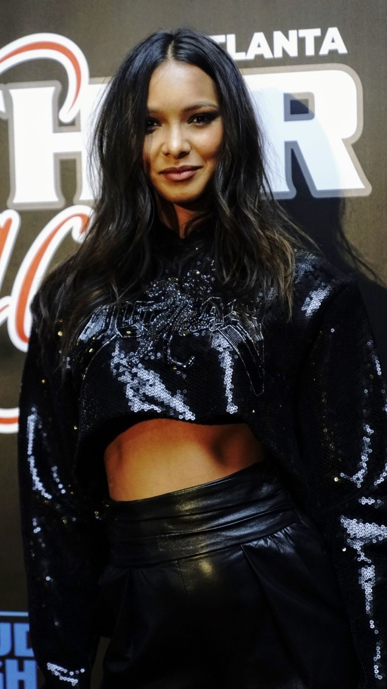 Lais Ribeiro 2019 Super Bowl Leather Amp Laces Party
