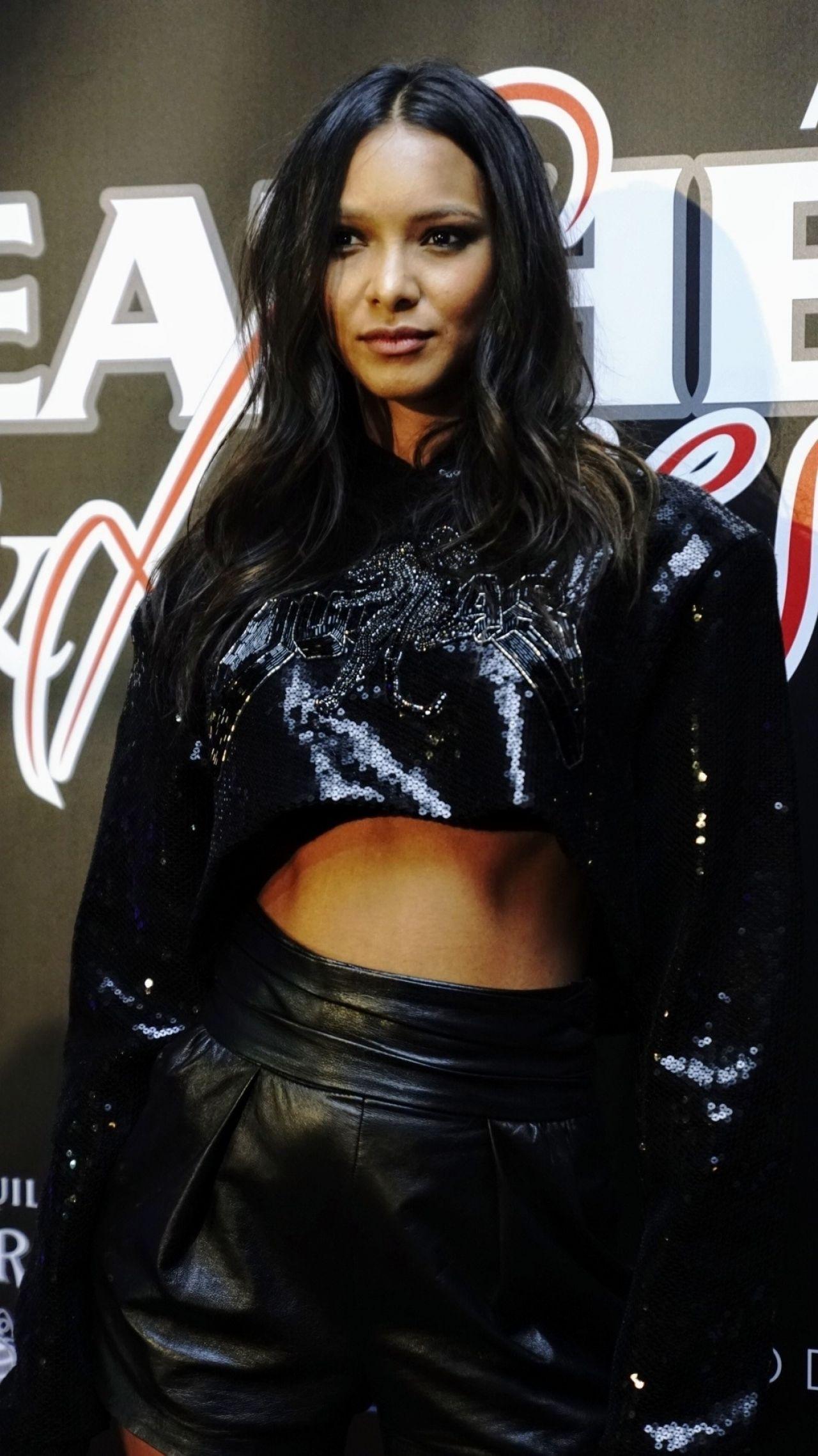 Lais Ribeiro 2019 Super Bowl Leather Amp Laces Party