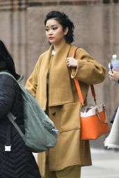 Lana Condor - Leaving Z100 Studios in NYC 02/12/2019