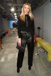 Lara Stone - Christopher Kane Show at London Fashion Week 02/18/2019