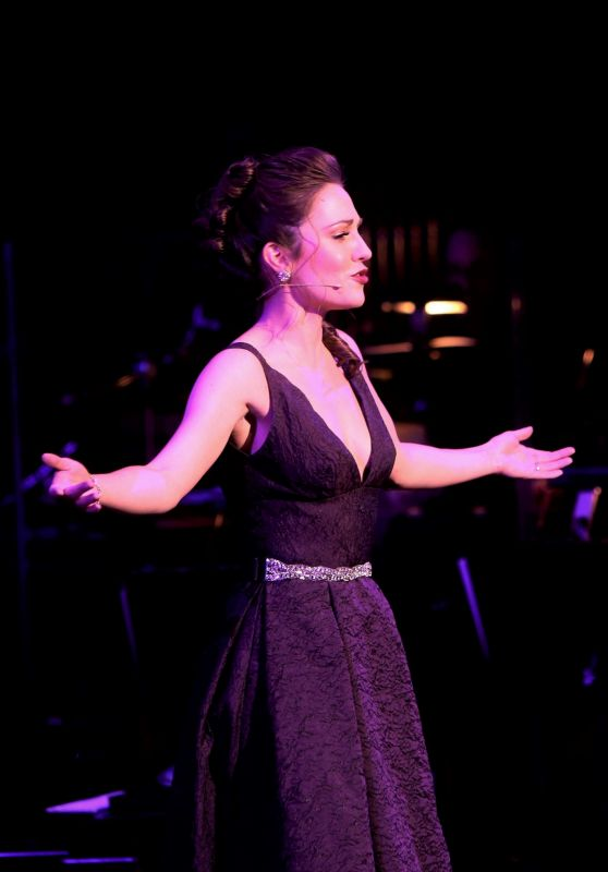 """Laura Osnes - """"The Scarlet Pimpernel"""" Concert in New York 02/19/2019"""