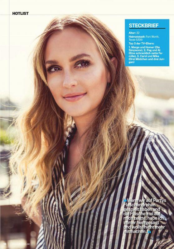 Leighton Meester - Mens Fitness Magazine Deutschland February 2019