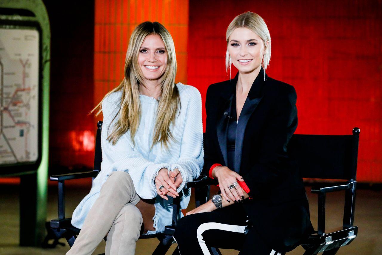 Lena Gercke And Heidi Klum Germany S Bext Topmodel 2019