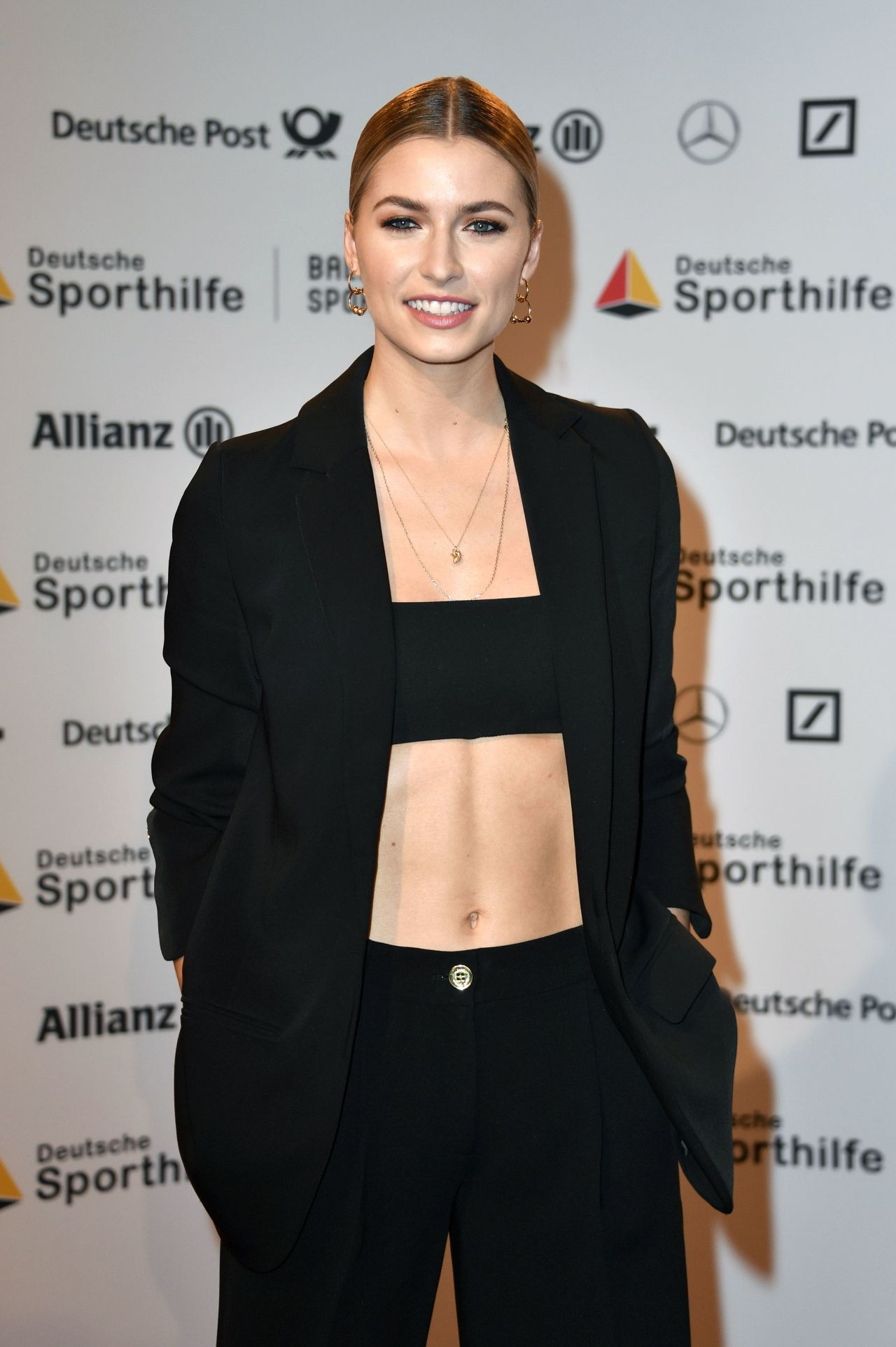 Lena Gercke Ball Des Sports Wiesbaden 02 02 2019